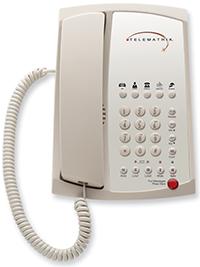 Готельний телефон-telematrix-3102mwd5-ash-analog