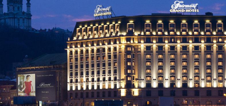 (Українська) Cetis для Fairmont Grand Hotel Kyiv